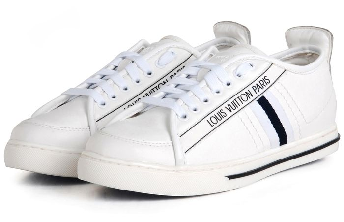 Louis Vuitton White Cosmos Sneakers