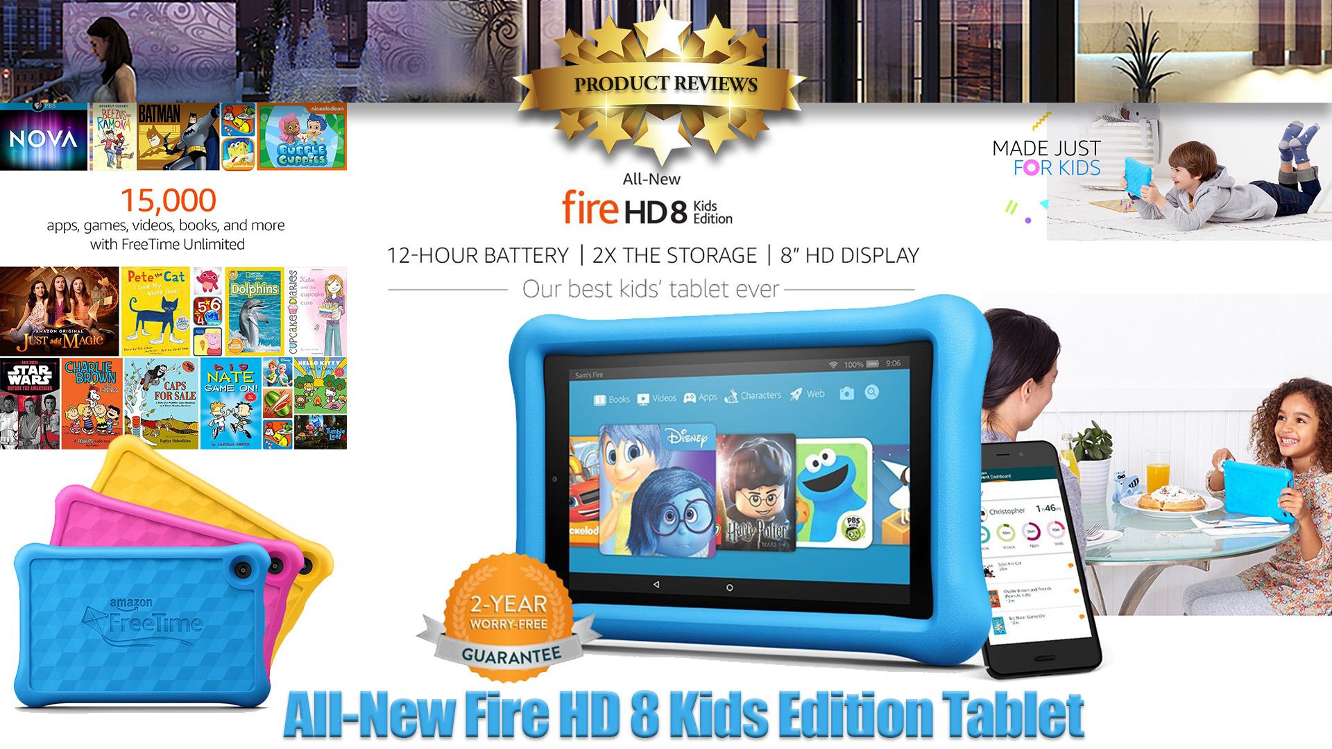 "All-New Fire HD 8 Kids Edition Tablet | 8"" HD Display"