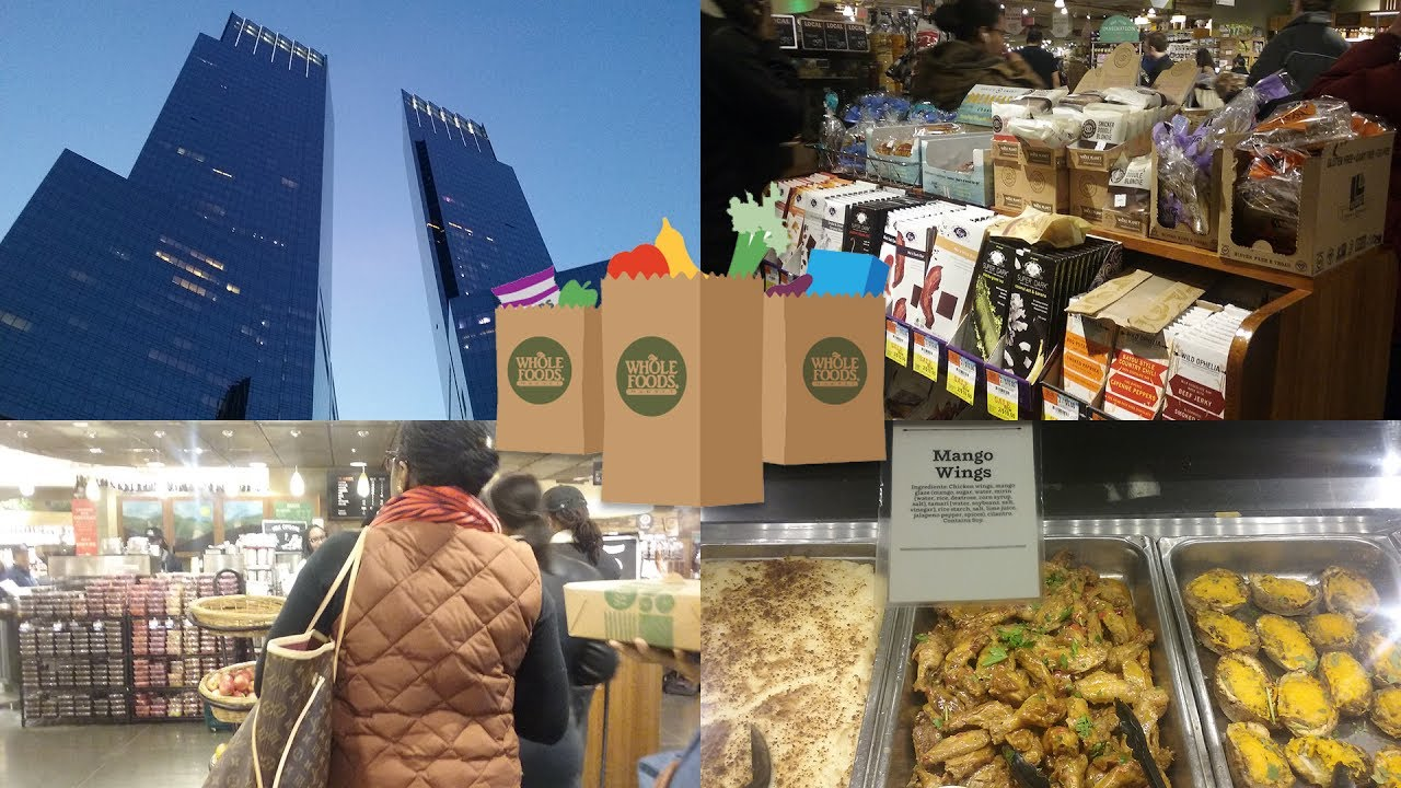 Random Trip to Whole Foods Market | Time Warner Center, Columbus Circle, NYC