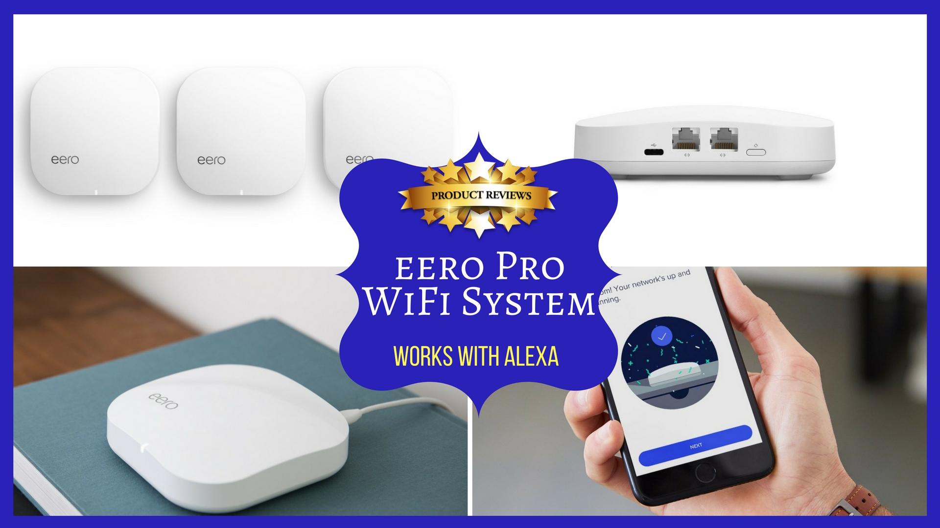 eero Pro WiFi System - Works with Alexa