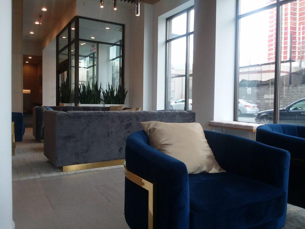 Luxury Lamping in my Lobby