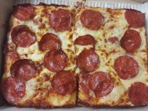 Little Caesars Deep Dish Pepperoni Pizza